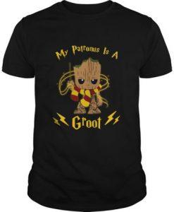 My Patronus Is A Groot t shirt