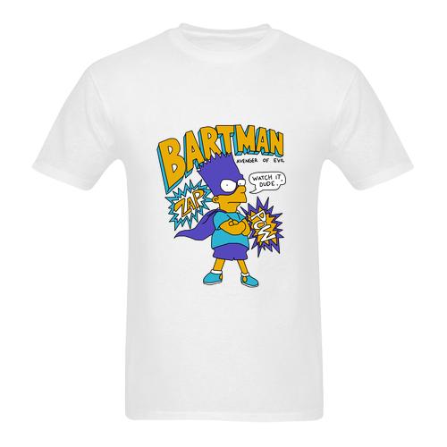 1990 bootleg Bart Simpson Bartman t shirt