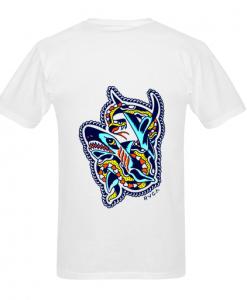 (2 side ) RVCA Bert RVCAloha T shirt back