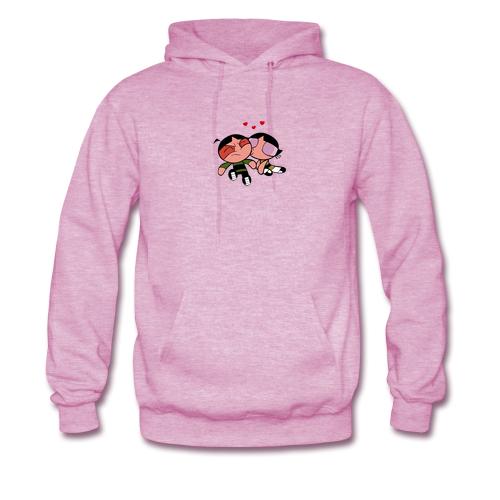 powerpuff girl buttercup kiss hoodie