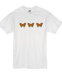Triple Butterfly t shirt