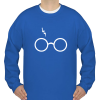 Wizard Sweatshirt unisex fit sweatshirt blue