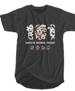 101 Dalmatians - 101 Days Of School t shirt