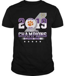 2019 Clemson Tigers CFP national champions Clemson Tigers t shirt