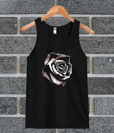 Black Rose tank top