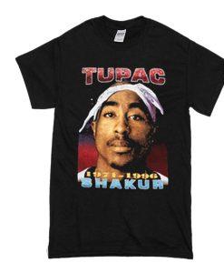Tupac Shakur 1971-1996 Death Urban Hip Hop t shirt