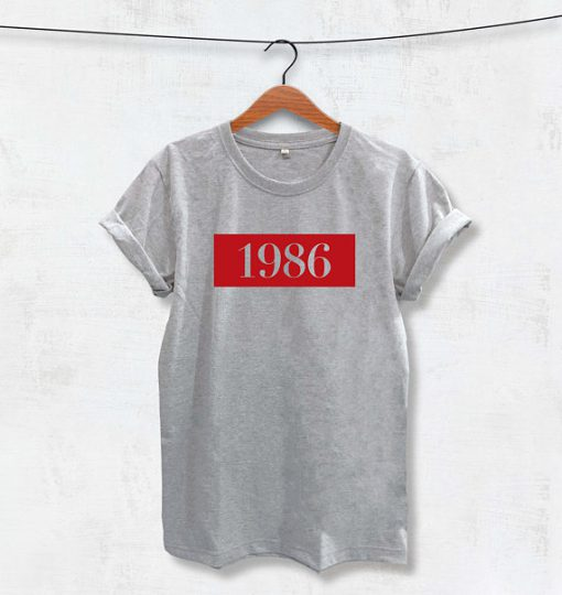1986 Printed T-Shirt