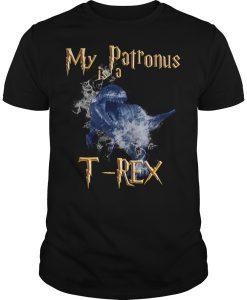 My Patronus is a T-Rex T Shirt
