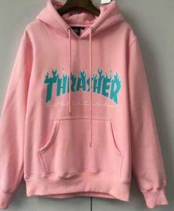 Thrasher Blue Pink Hoodie
