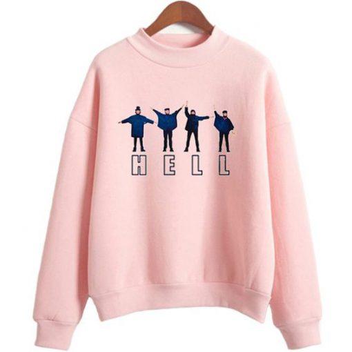 Hell The Beatles hoodie