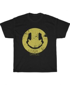 Music Smile t shirt
