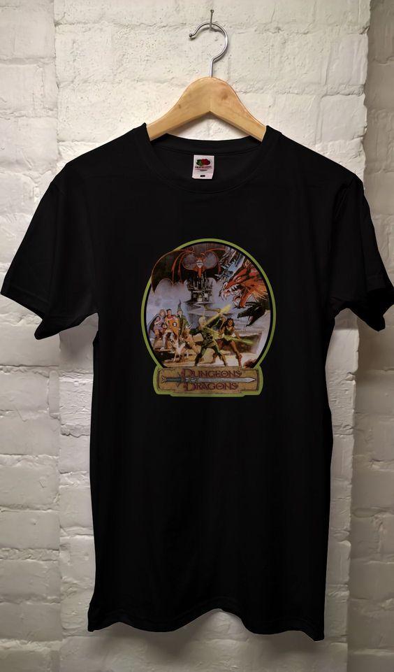 80's Dungeons & Dragons t shirt