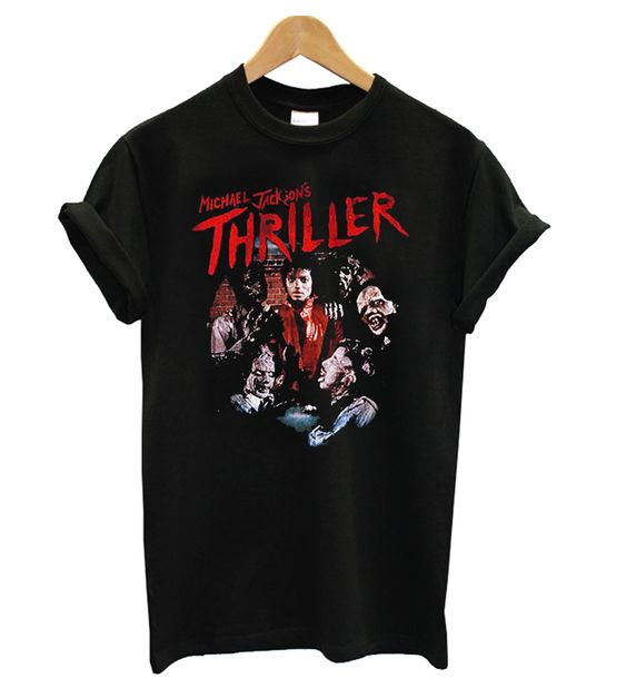 Michael Jackson Thriller Black t shirt