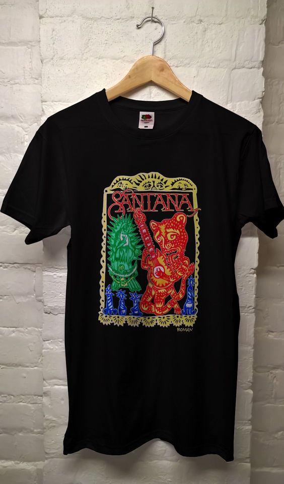Santana t shirt