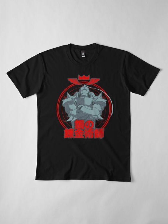 104 Fullmetal Alchemist t shirt