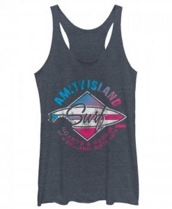 Amity Island Surfboard Repair tank top