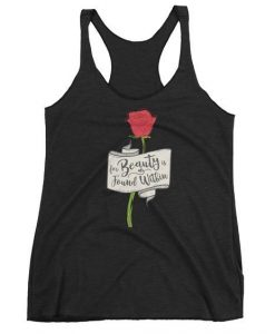 For Beauty is Found Within Women tank top