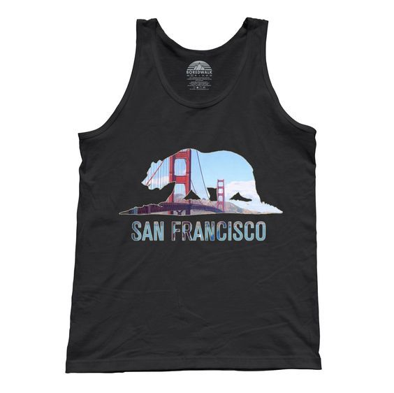 San Francisco tank top