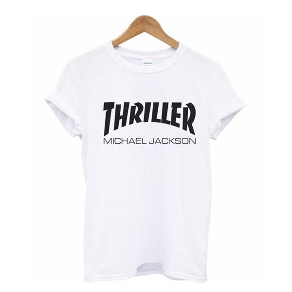 Thriller Michael Jackson Thrasher t shirt