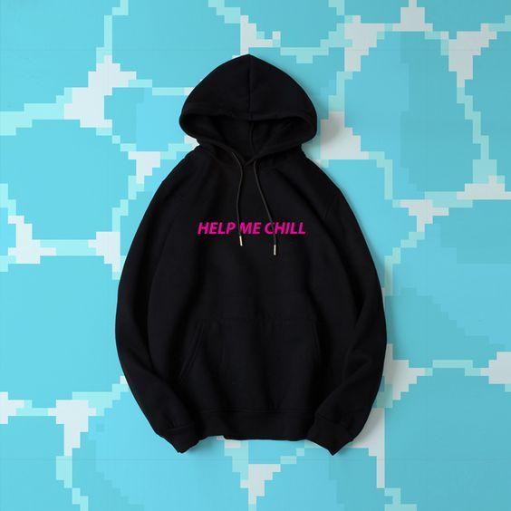 VAPORWAVE HELP ME CHILL hoodie