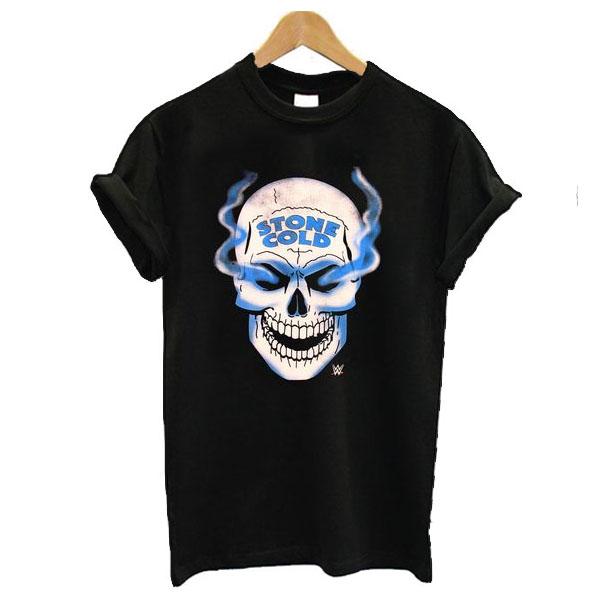 WWE Stone Cold Austin 316 Smoke Skull t shirt