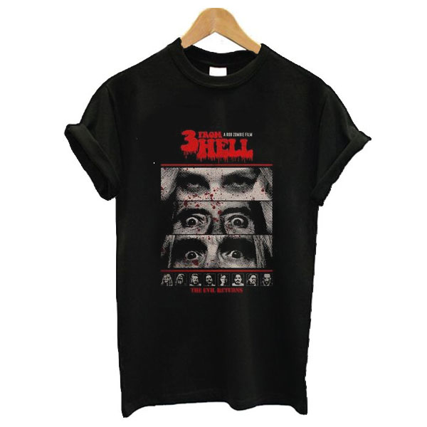 3 From Hell t shirt