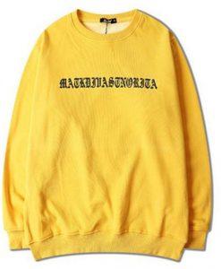 Ariana Grande Yellow sweatshirt