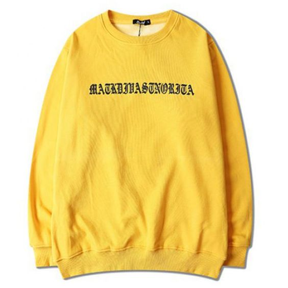 Ariana Grande Yellow sweatshirt