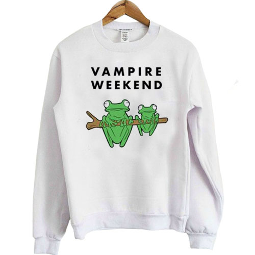 Vampire Weekend Frog sweatshirt