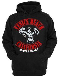 Venice Beach California Muscle Beach hoodie