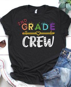 2nd Grade Crew t shirt