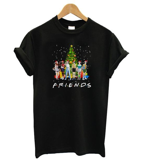 Friends Christmas t shirt