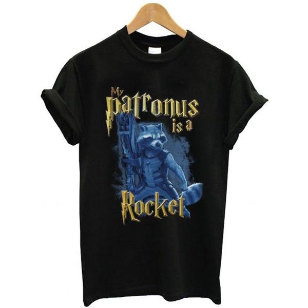 My patronus is a Rocket t shirt