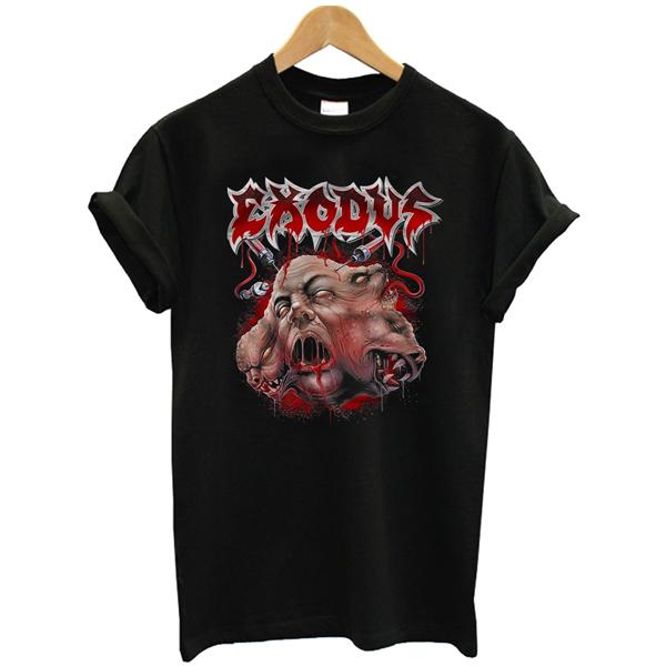Exodus Black Unisex t shirt