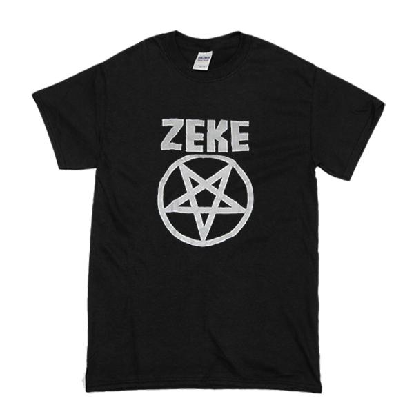 Zeke Pentagram t shirt