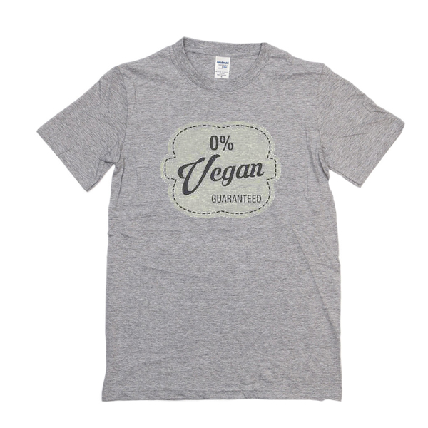 0% Vegan t shirt