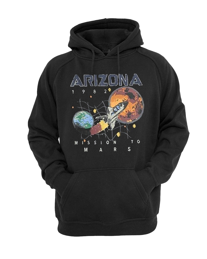 ARIZONA MISSION TO MARS 1982 HOODIE