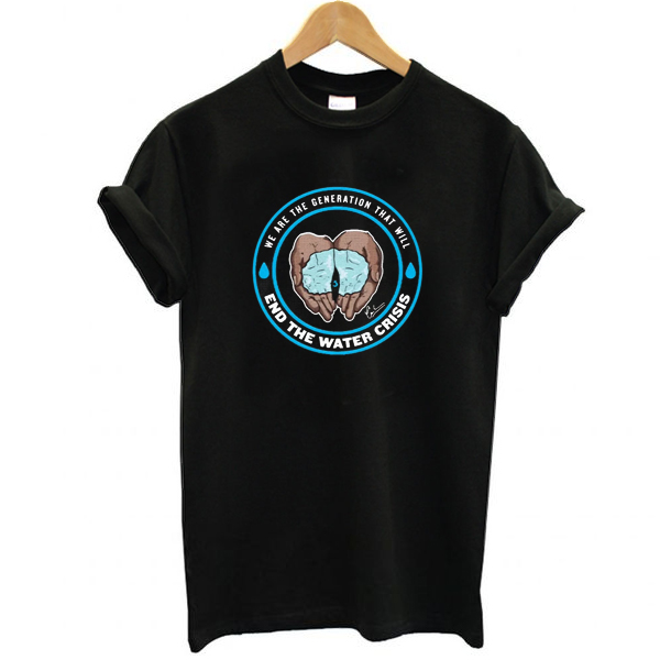 Cameron Boyce End The Water Crisis Charity t shirt