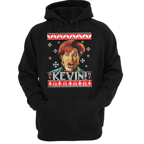 Home Alone Kevin ugly Christmas hoodie
