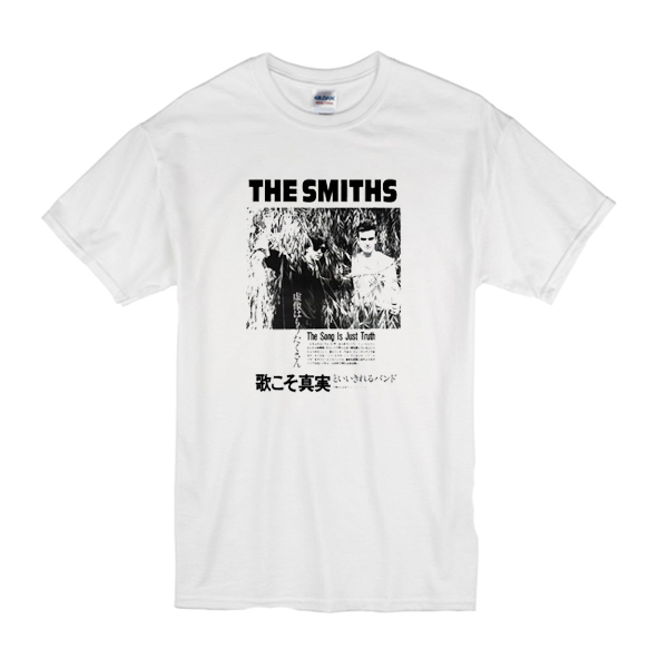 The Smiths 'The Song Is Just Truth' t shirt