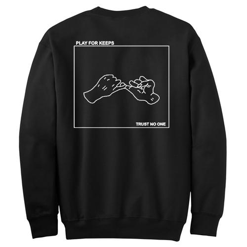 play for keeps back sweatshirt