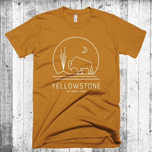 yellowstone national park t shirt