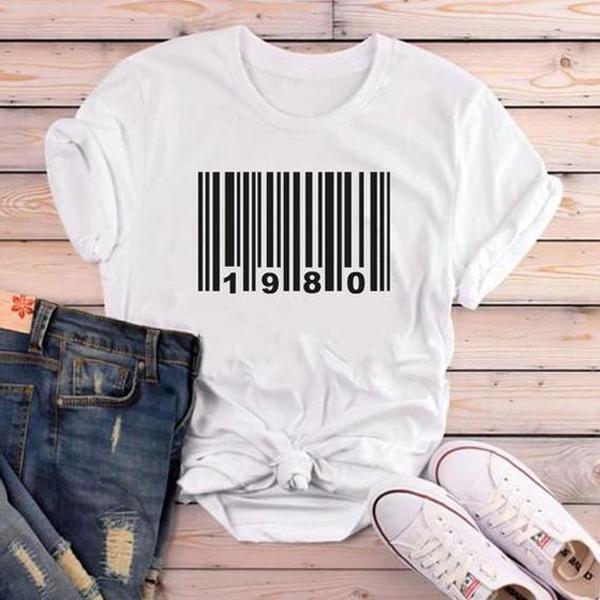 1980 birthday t shirt