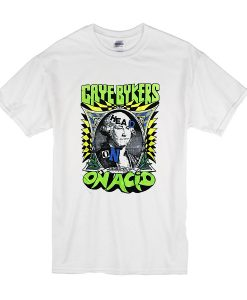 1988 Gaye Bykers on Acid Head On, Wigged Out Tour t shirt