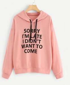 Want To Come hoodie