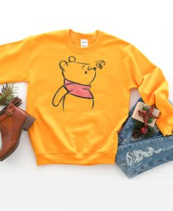Winnie The Pooh Sketch sweatshirt