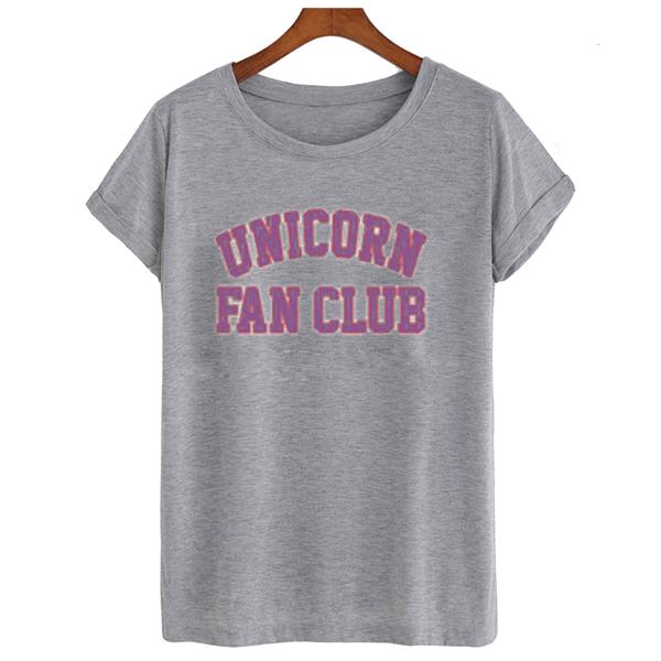 Unicorn Fan Club t shirt