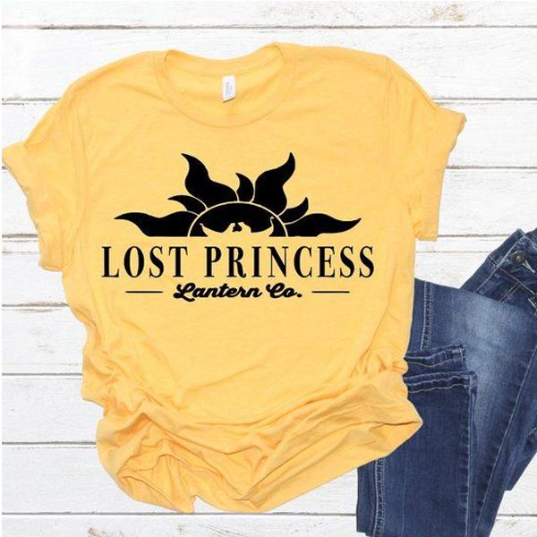 Tangled Tee, Rapunzel, Lost Princess Lantern Company t shirt