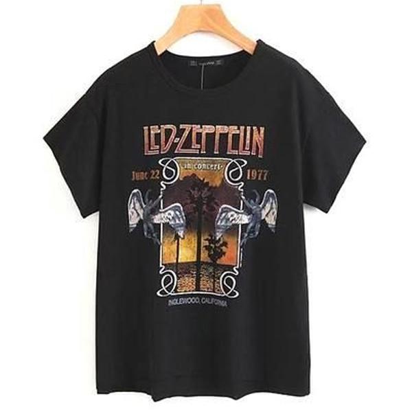 Zeppelin Rock Band t shirt