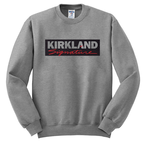 Kirkland Signature Crewneck sweatshirt